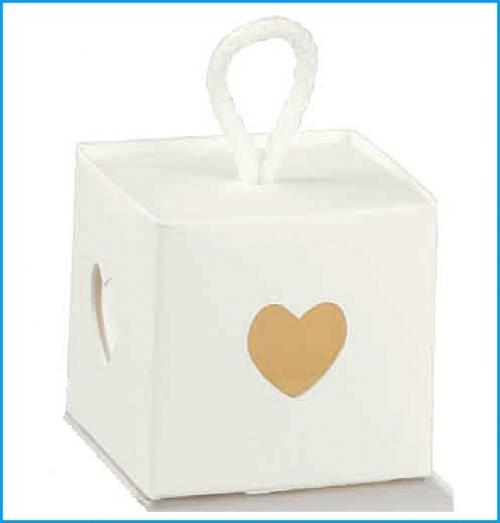 Herzen Box mit Band zum selbstbefüllen