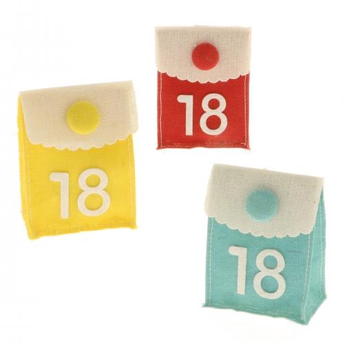18 Anni, 18 Geburtstag Sacchettino