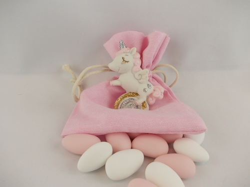 Bomboniere  -  Einhorn rosa - Unicorno rosa