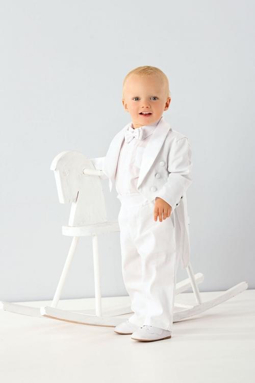 Spencer - Anzug in weiß