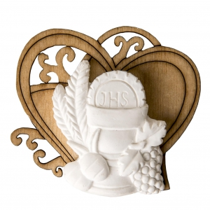 Bomboniere  - Calice auf zwei Herzen